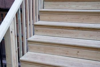 Repair Weathered Steps With Resin Glue To Make Them Usable Again