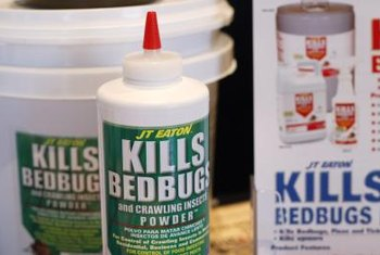 A number of commercial products claim to eradicate bedbugs.