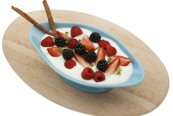 Yogurt can be made from lactose-free milk alternatives, including healthful coconut milk.