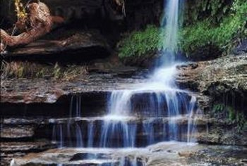 The Best Waterfalls Are The Ones That Make Use Of Natural Settings And  Materials.