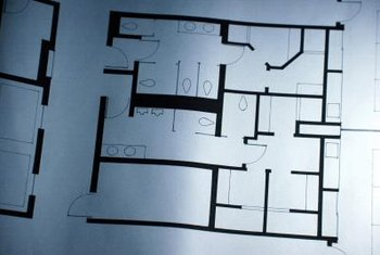 A scale plan helps you arrange the furniture in your room.