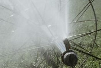 Spray irrigation is best suited to large-scale irrigation.