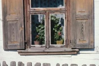 Gaps often create drafts in older windows and doors.
