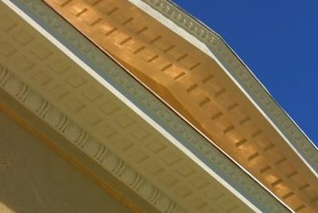 Soffits and fascias combine function and design to integrate the eaves, siding and roofing.