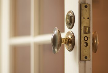 When tenants fail to move out after an unlawful detainer lawsuit, a sheriff supervises the changing of the locks.