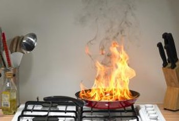How to Clean a Kitchen Ceiling That Is Covered in Smoke Residue ...