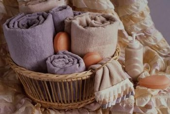 Decorating a Bathroom With Wicker Baskets | Home Guides | SF Gate
