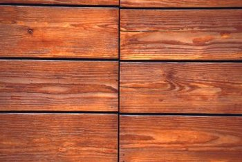 Deck stain can be color-coordinated with the trim on your home, fencing or surrounding plants to provide an even color scheme.