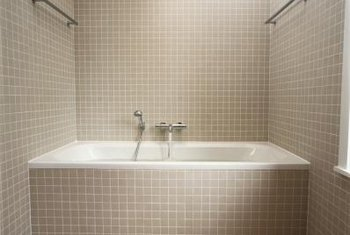 types of bathroom tiles how to tile a plastic tub home guides sf gate 21080