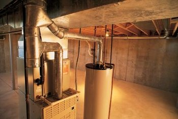 Copper pipes expand when hot water starts flowing.