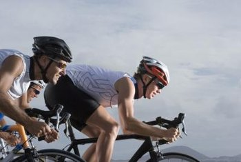Protein helps triathletes maintain lean muscle mass.