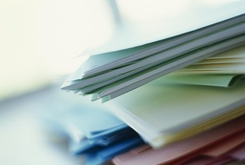Applying for a home improvment grant requires a fair amount of paperwork.