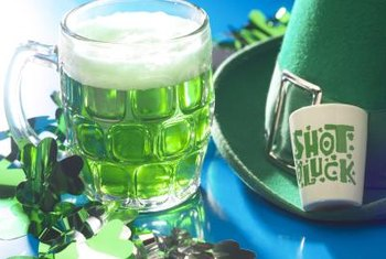 Host a St. Patrick's Day party in your Irish pub room.