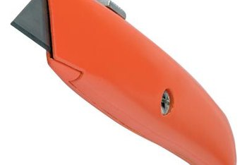Keep extra blades in the handle of a utility knife when repairing a roof.