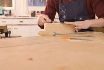 A home workshop encourages family members to use their creativity.