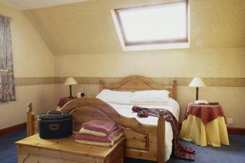Treat skylights to fix rotten wood.