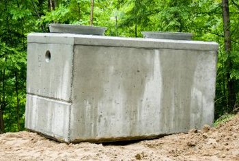 Septic tank size, waste-water volume and solids content influence pumping requirements.