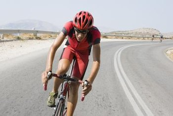 Cycling is just one of the disciplines to master for a triathlon.