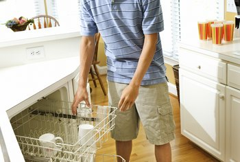 Newer dishwashers are designed to make loading easier.