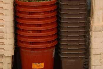 Just about any large watertight container can be used as a fountain reservoir.