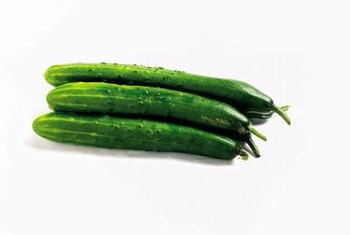 Cucumbers require plenty of water during the fruit-setting stage.