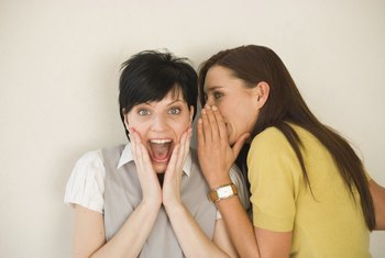 Give gossiping employees new behavior solutions to talk about.