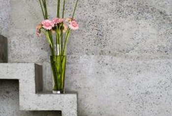 Concrete is now available in many colors other than the standard gray.