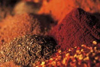 The strong spices in a curry mix can leave unpleasant odors in cupboards.