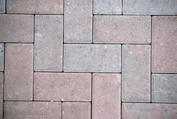 Create patterns with brick pavers.
