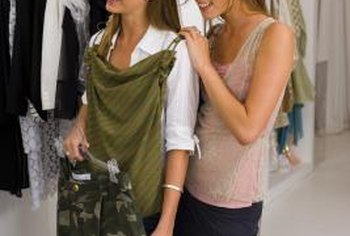 Clothing can be made from recycled materials, in addition to being reused.