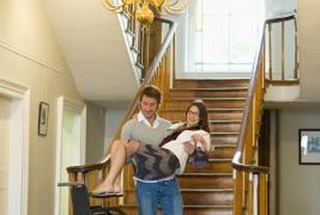 Increase your mobility by installing a stair lift in your home.