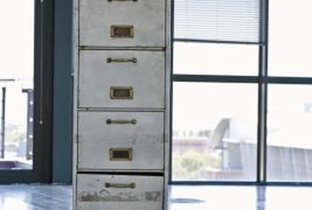 How To Repaint A Metal Filing Cabinet Your Does T Have Remain Insutional Gray