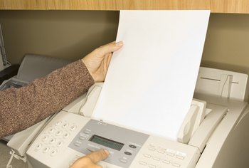 An inexpensive fax machine meets the needs of most small businesses.