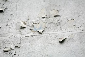 Peeling plaster on your bathroom walls isn't just unsightly, it's an ideal spot for mildew to grow.