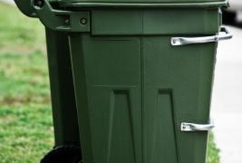 A compost bin turns food scraps and yard wastes into effective fertilizer.