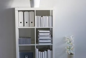 A Freestanding Bookshelf Can Section Off Large Room