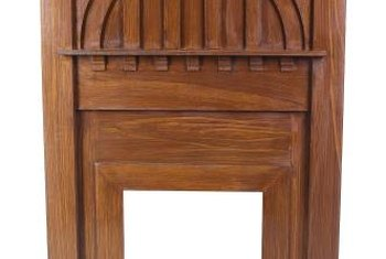 Arts Crafts Fireplace Mantels Home Guides Sf Gate