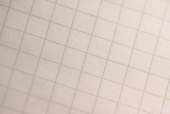 Graph paper is available in different sizes, which can make planning easier.