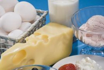 Protein-rich foods include eggs, low-fat dairy, soy products, legumes, nuts and seeds.