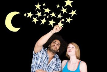 Glowing stars overhead can appeal to young and old alike.