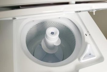 You can reset your GE top-loading washer's motor by following a few simple steps.
