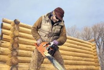 Operate a chainsaw with someone nearby in case of emergencies.