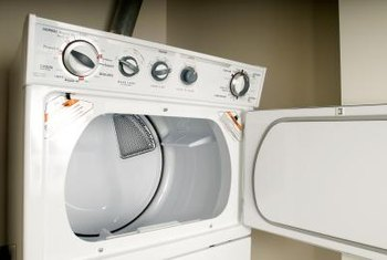 An electric clothes dryer is a significant contributor to the monthly electric bill.