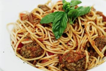 Meatballs are a good source or iron and zinc.