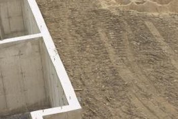 Building concrete walls to exact specifications requires careful form construction.