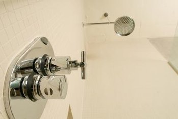 Tile ceilings are necessary in enclosed showers.