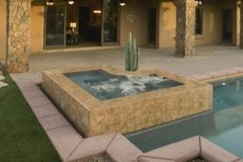 How To Make A Stone Veneer Hot Tub Surround Home Guides