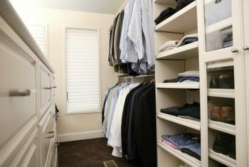 Customize A Closet Organizer To Keep Clothing And Shoes Neatly Arranged