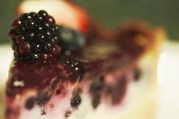 Use boysenberries to create a tasty dessert topping.