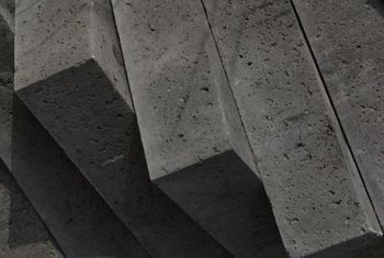 Concrete material is a foundation layer for numerous projects.